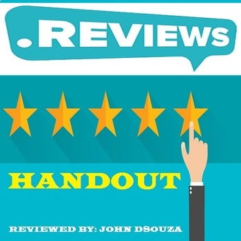 REVIEWS: HANDOUTS