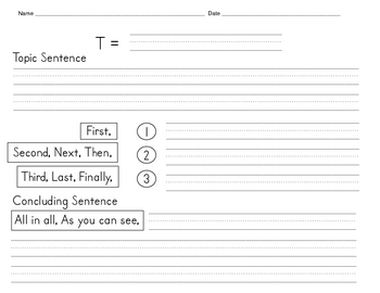 REVISED! Draft/Outline Format Paper for Narrative/Expository Writing