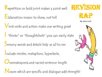 REVISION DECISIONS (Writing Strategies)