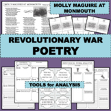 REVOLUTIONARY WAR Poem MOLLY MAGUIRE AT MONMOUTH Poetry Study