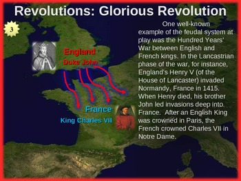 REVOLUTIONS UNIT - (PART 2 - The Glorious Revolution) visual, textual, engaging