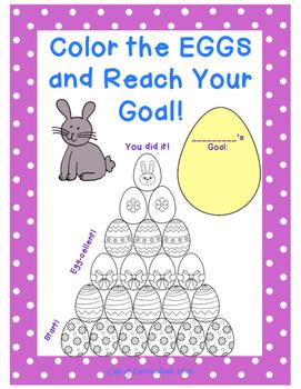 REWARD SYSTEM: Color the EGGS