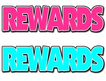 REWARDS Headers