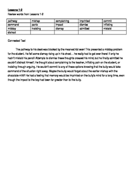 REWARDS Intermediate Review Words with Connected Text