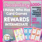 REWARDS Reading Program | Vocabulary Intervention Bundle | 25 I Have, Who Has