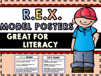 REX Model - R.E.X. Model a framework for answering short answer questions