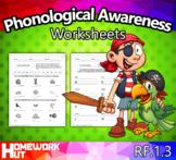 RF.1.3 - Phonological Awareness Worksheets