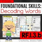 RF.1.3.b- Decoding Words Activities and Lessons, Decode One-Syllable Words