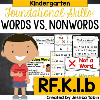 RF.K.1.b- Recognizing Words in Print