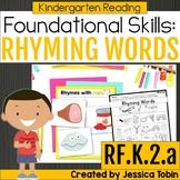 RF.K.2.a- Rhyming Words