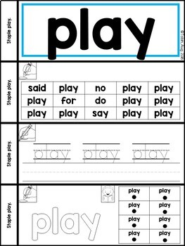 RF.K.3.c- High Frequency Sight Words