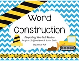 """RF.4.3 and L.4.4 """"Word Construction"""" Morphology Word Wall Headers"""