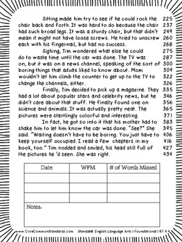 RF.4.4 Fourth Grade Common Core Worksheets, Activity, and Poster