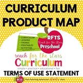 CURRICULUM MAP OF PRODUCTS - RFTS TERMS OF USE  - BUNDLE P