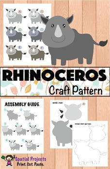All About Rhinoceros Nonfiction Unit