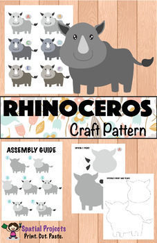 All About Rhinoceros Nonfiction Unit