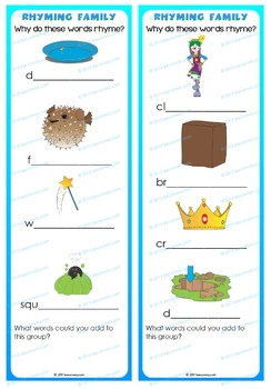 RHYME ACTIVITIES – Testing ideas
