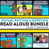 RHYME, RHYTHM AND REPETITION BUNDLE read aloud lessons and