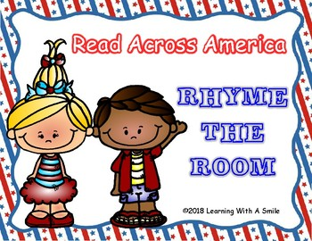 RHYME THE ROOM Activity ~ Dr. Seuss Inspired ~ Write the Room Rhyming