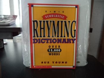 RHYMING DICTIONARY     ISBN  0-590-96393-7