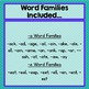 RHYMING GAME: I Have... Who Has? Word Families -a & -e