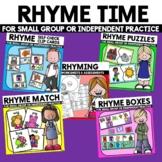 Rhyming Activities Rhyming Practice