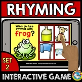 RHYMING GAMES PRESCHOOL (PHONOLOGICAL AWARENESS GAME) BOOM