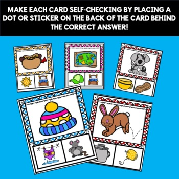 RHYMING  ACTIVITY CLIP CARDS