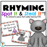 RHYMING Spot It & Steal It Game