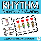 Movement Rhythm Activities: Posters, Flashcards, Power Point