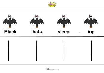 RHYTHM CARDS - Bats