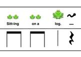 RHYTHM CARDS - Frogs