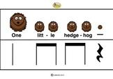 RHYTHM CARDS - Hedgehogs