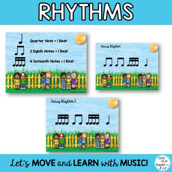 "RHYTHM CHANT ""If You Buy A Pepperoni Pizza"" Music Class Lesson and Activities"