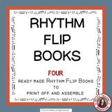 Music Activities: Music RHYTHM Flip Books