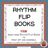 Music RHYTHM Flip Books