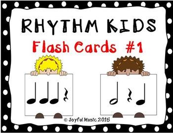 RHYTHM KIDS Flash Cards #1 (REVISED)