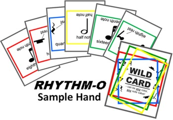 RHYTHM-O Music Literacy Practice Game COMPLETE 2018