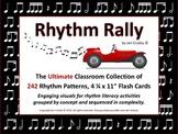 RHYTHM RALLY - Mega Set - 248 Sequenced Rhythm Flash Cards