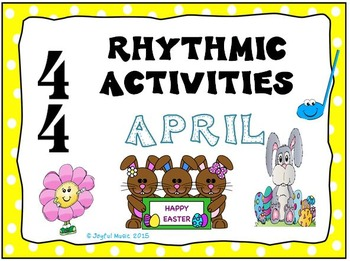 RHYTHMIC ACTIVITIES April Resources