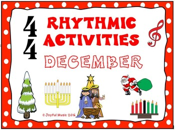 RHYTHMIC ACTIVITIES December Resources