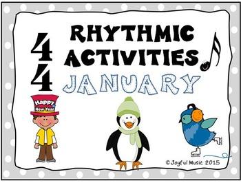 RHYTHMIC ACTIVITIES January Resources