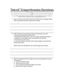 RI.1.1 RI.1.2 Comprehension Questions