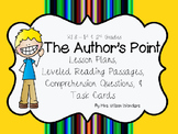 RI 1.8 & 2.8 Identify Author's Point & Reasons