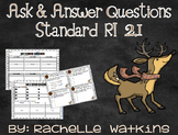 RI 2.1 Ask and Answer Questions about Reindeer