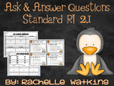 RI 2.1 Ask and Answer Questions about Penguins