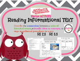 "RI 2.3 /3.3 Reading Informational ""STEPS IN A TECHNICAL PROCESS"""