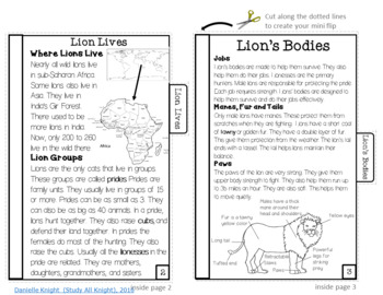 RI.2.5 Using Text Features Mini Books and Activities