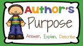 RI 2.6 PowerPoint: Author's Purpose