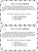 RI 2.6 Task Cards - Author's Main Purpose: Describe, Expla